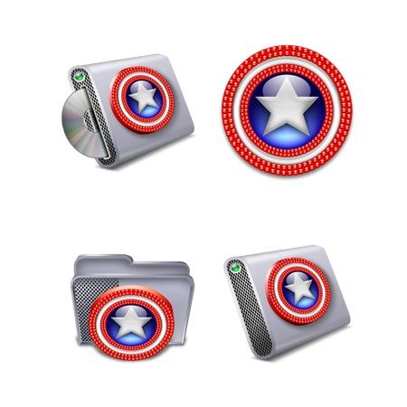 Captain America-icons-iconshock
