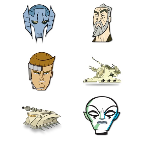 Clone Wars-icons-iconshock