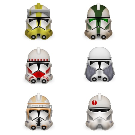 Clone troopers-icons-iconshock