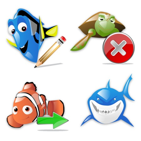 Finding Nemo-icons-iconshock