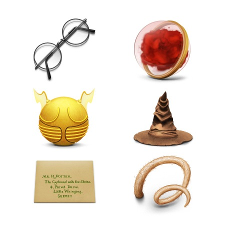 HarryPotter Stone-icons-iconshock