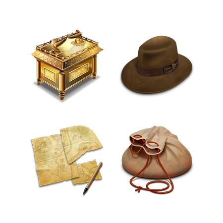 Indiana Jones raiders-icons-iconshock