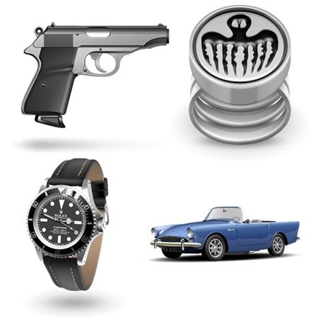 James Bond-DrNo-icons-iconshock