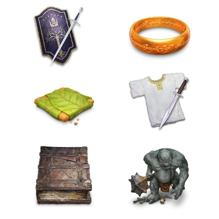 Lord of the Rings Trilogy-icons-iconshock