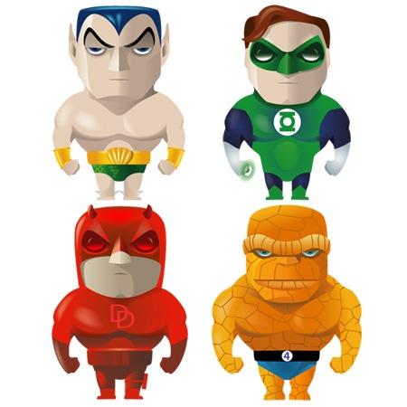 Superheroes-icons-iconshock