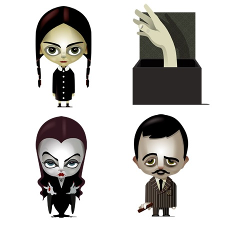 The Addams Familiy-icons-iconshock