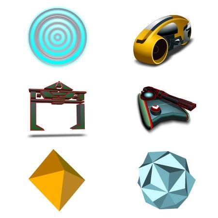 Tron-icons-iconshock