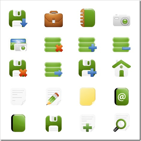 100 free web elements sets - Icon Library