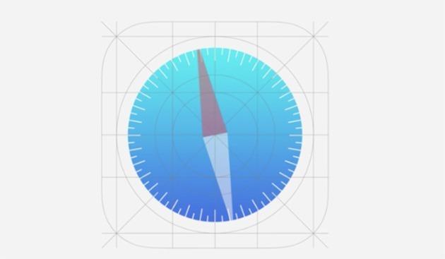 iOS7 grid model