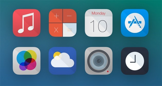 iOS7 icons by Rovane Durso