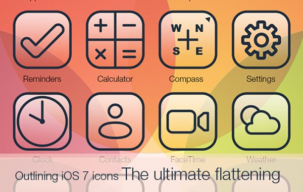 outlining-ios-7-icons